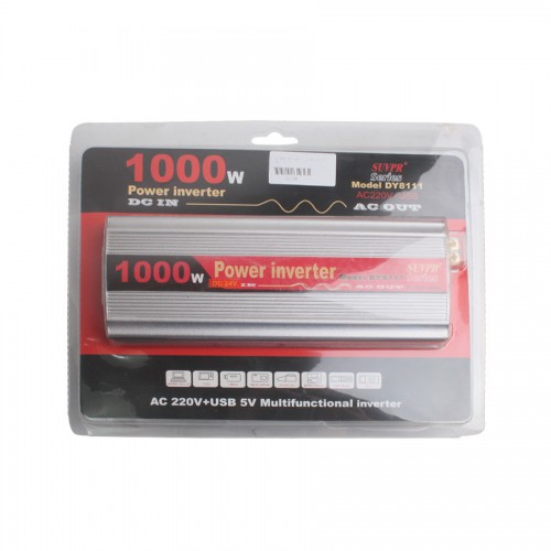 1000W USB Car Inverter DC 24V to AC 220V