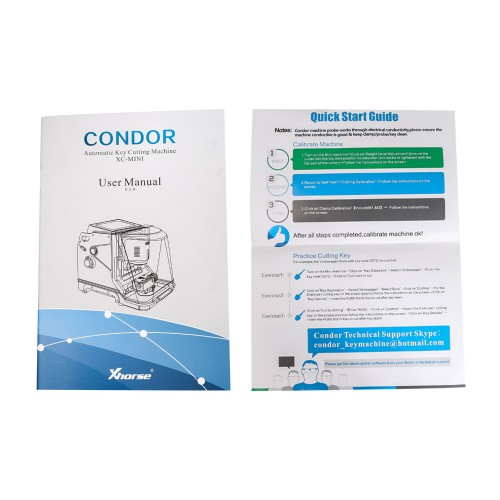[Ship from UK NO TAX] Xhorse Condor XC-Mini Plus (Condor XC-MINI II) Key Cutting Machine