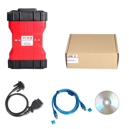V112.01 Best Quality Ford VCM II Diagnostic Tool Supports Latest Ford VCM IDS