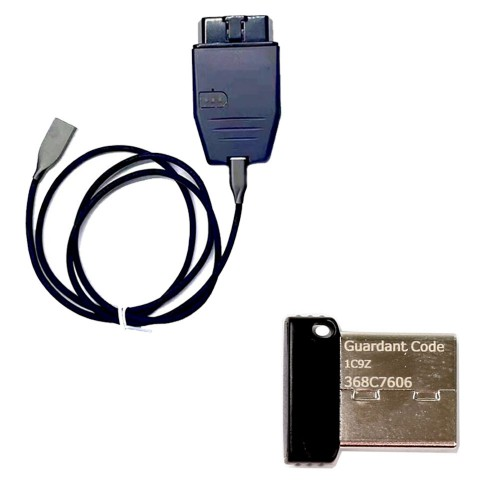 Diatronik SRS+DASH+CALC+EPS OBD Tool with USB Dongle Support All Renesas and Infineon via OBD2 Powerful than CG100 Prog III