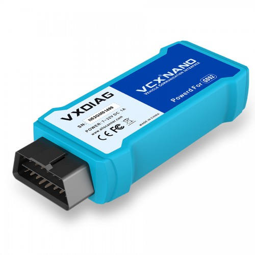 [UK Ship]VXDIAG VCX NANO For GM/OPEL GDS2 Diagnostic Tool WIFI XP/WIN 7/WIN8/WIN10