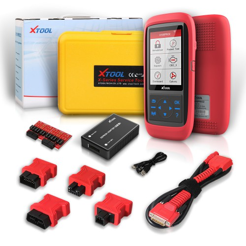 [Ship from UK NO TAX] XTOOL X100 Pro OBD2 Auto Key Programmer/Mileage Adjustment with EEPROM Adapter