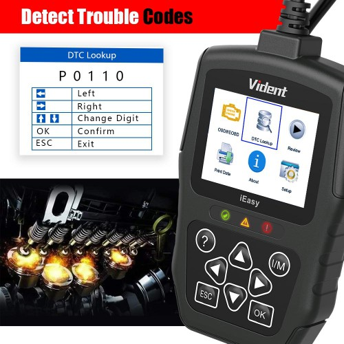 VIDENT iEasy300 Pro CAN OBDII/EOBD Code Reader