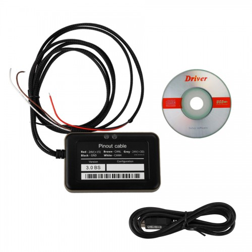 Cheap 8 in 1 Truck Adblueobd Emulator for Mercedes MAN Scania Iveco DAF Volvo Renault and Ford