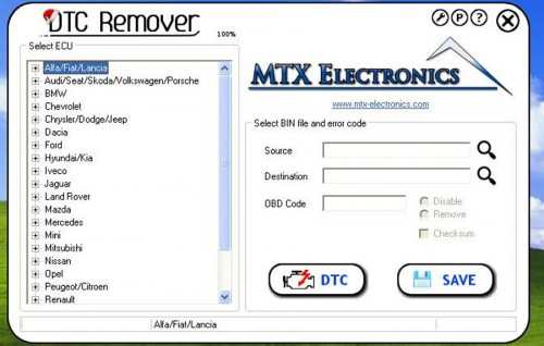 New Arrival DTC Remover Version 1.8.5 Software for Deactivating DTC Errors