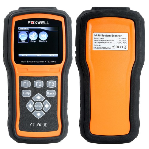 Foxwell NT520 Pro Multi-System Scanner (Buy SC283-C Instead)