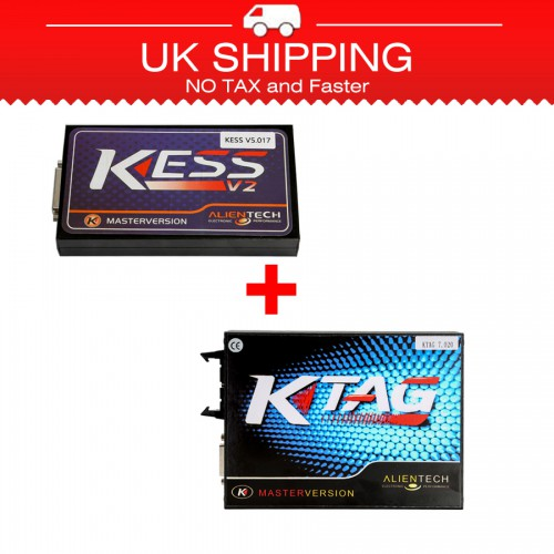 [Ship from UK NO TAX]Newest V2.23 KESS V2 Firmware V5.017 Plus V2.23 KTAG Firmware V7.020
