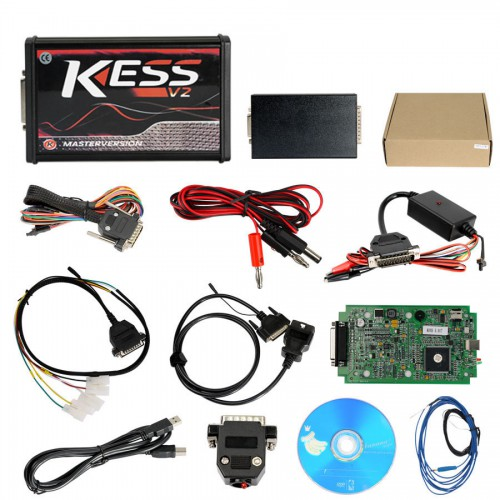 Online Version Kess V2 V5.017 with Green PCB Support 140 Protocol No Token Limited Get Free ECM TITANIUM V1.61