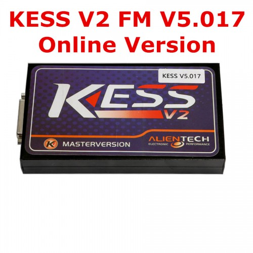 [Ship from UK NO TAX]Online Version Kess V2 V5.017 No Tokens Need Kess V2.47 Firmware V5.017 Add 140+ Protocols Get Free ECM TITANIUM V1.6
