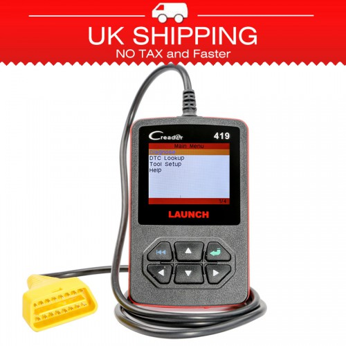 [Ship from UK]Launch CReader 419 DIY Scanner OBDII/EOBD Auto Diagnostic Scan Tool Code Reader