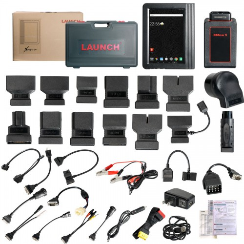 Launch X431 V+ Pro3 Wifi Bluetooth Tablet Full System Plus Mini Printer