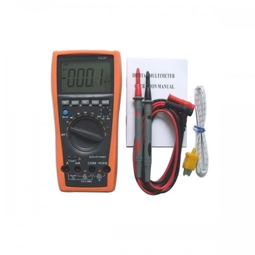 New VC97 3999 Auto range multimeter vs FLUKE 15B tester