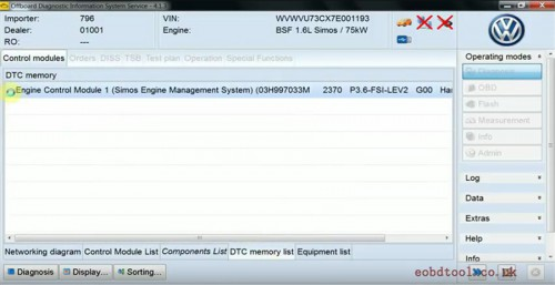 ODIS 4.4.1 Software for VAS 5054A Support Multi-languages Stored in 32G U Disk