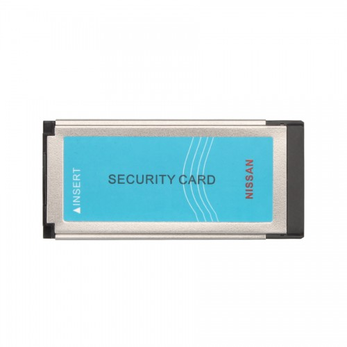 Nissan Consult 3 and Nissan Consult 4 Security Card for Immobilizer