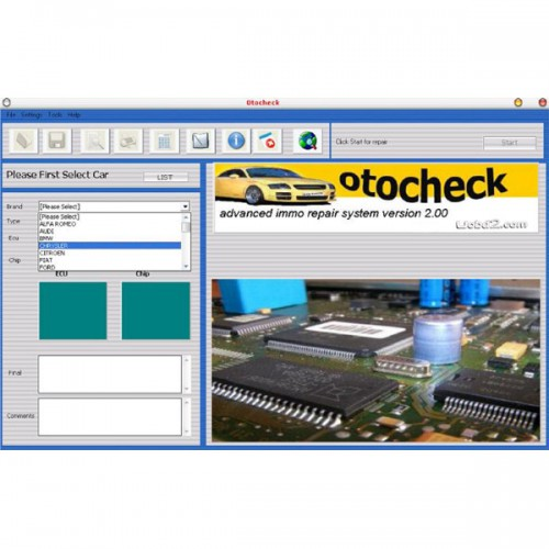 OTOCHECKER 2.0 IMMO CLEANER Send Online