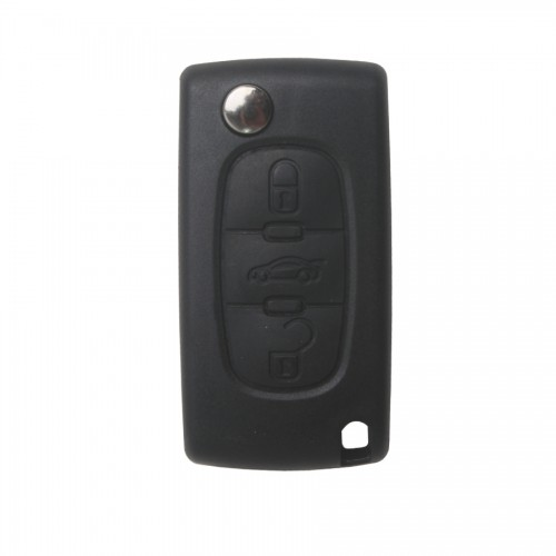 3 Button Remote Key Shell (VA2) For Peugeot 5pcs/lot