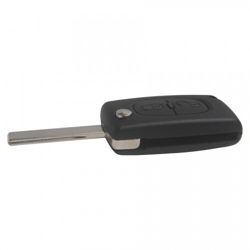 Remote Key 2 Button with ID46 Chip For Original Peugeot 307 Flip