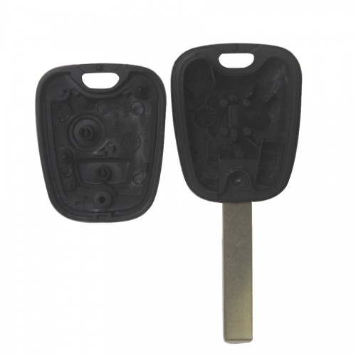 Remote Key Shell 2 Button HU83 (Without Logo) For Peugeot 10pcs/lot