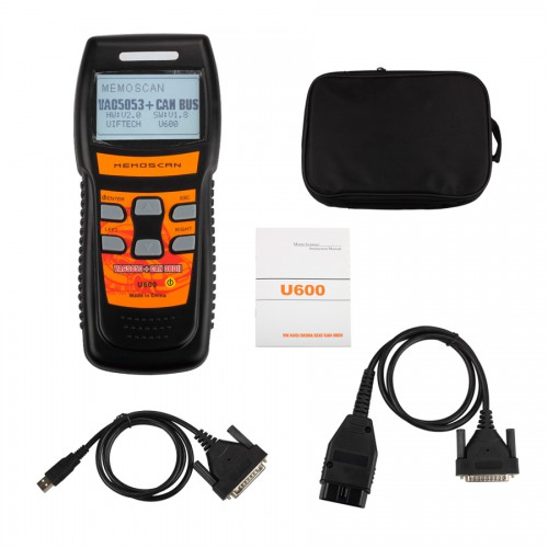 U600 VW/AUDI OBD2 CAN Scanner Code Reader Live Data New