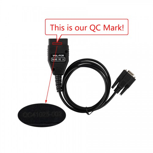 Serial Diagnostic Cable for Volvo Free Shipping