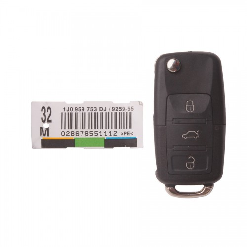 3-Button Remote Key 315MHZ for VW