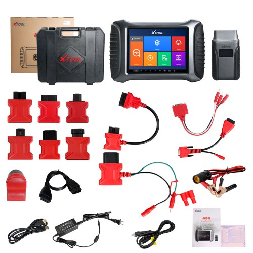 XTOOL A80 With Bluetooth/WiFi Full System Car Diagnostic tool Car OBDII Car Repair Tool Vehicle Programming/Odometer Adjustment
