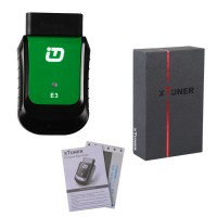 [Ship from UK NO TAX]V9.1 XTUNER E3 WINDOWS 10 Wireless OBDII Diagnostic Tool Pefect Replacement For VPECKER Easydiag