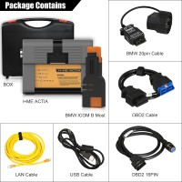 Perfect Version ICOM A2+B+C For BMW Diagnostic & Programming Tool Without Software