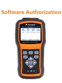 Software Authorization for NT510/NT520/NT530 Pro Multi-System Scanner