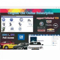 (Flash Sale)Original GM Online Subsription for One Year Work with GM MDI/GM Tech2/VCMII