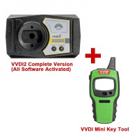 Promotion! V6.6.9 Xhorse VVDI2 Completed Version (Every Software Activated) Send A Free VVDI Mini Key Tool