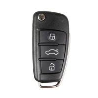 XHORSE VVDI2 Audi A6L Q7 Type Universal Remote Key 3 Buttons (Independent packing)
