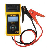 AUTOOL BT-660 Car Battery Tester with Built-in Printer BT660 Battery Analyzer