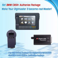 Buy 200 Tokens for Digimaster 3/CKM100 Get Free BMW CAS4+ Authorize Package