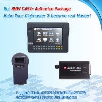 CAS4+ Authorize Package Works with Digimaster 3/CKM100 and Super BDM Programmer for BMW No Need Ship