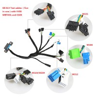 [Ship from UK]EIS ELV Test cables for Mercedes Works Together with VVDI MBTOOL(five-in-one)