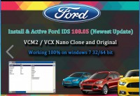 Latest Ford VCM IDS V117 Full Software Support Multi-languages