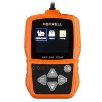 FOXWELL NT204 OBD2 CAN Diagnostic Tool Fault Code Reader Multi-languages Available