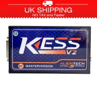[Ship from UK NO TAX]Kess V2 V5.017 Online Version Add 140+ Protocols No Tokens Need Software V2.47