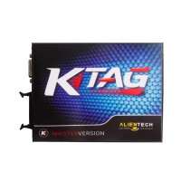 V2.11 KTAG K-TAG Master ECU Programming Tool With Unlimited Token Send Free ECM TITANIUM V1.61