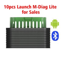 Launch M-Diag Lite Plus Bluetooth Scanner for IOS Android Smart Phone 10pcs/lot for Sales(SC219-D Can Totally Replace)