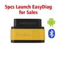 Launch X431 EasyDiag UK Bluetooth OBD2 Code Reader for Android IOS 5pcs/lot(SC301-C Instead)