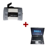 Super MB Star C3  Plus Dell D630 Laptop Install Well Update Online For BENZ Car and Truck