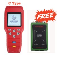 [DHL FREE SHIP]OBDSTAR X-100 PRO Auto Key Programmer (C) Type Support IMMO And OBD Software Function