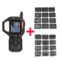 Original Xhorse VVDI Key Tool Remote Key Programmer with Full 24 Key Renew Adapters