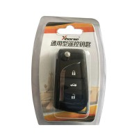 XHORSE VVDI2 XN008 Toyota Type Wireless Universal Remote Key 3 Buttons (Individually Packaged) 5Pcs