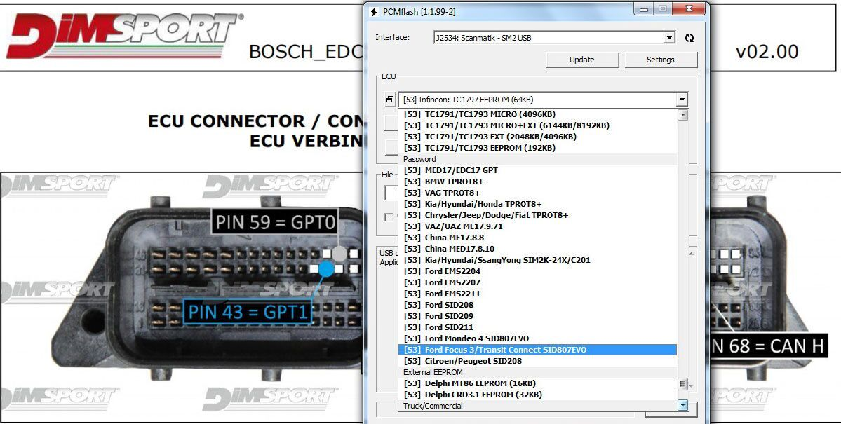 KTM Bench ECU Programmer for BOOT and Bench Read and Write