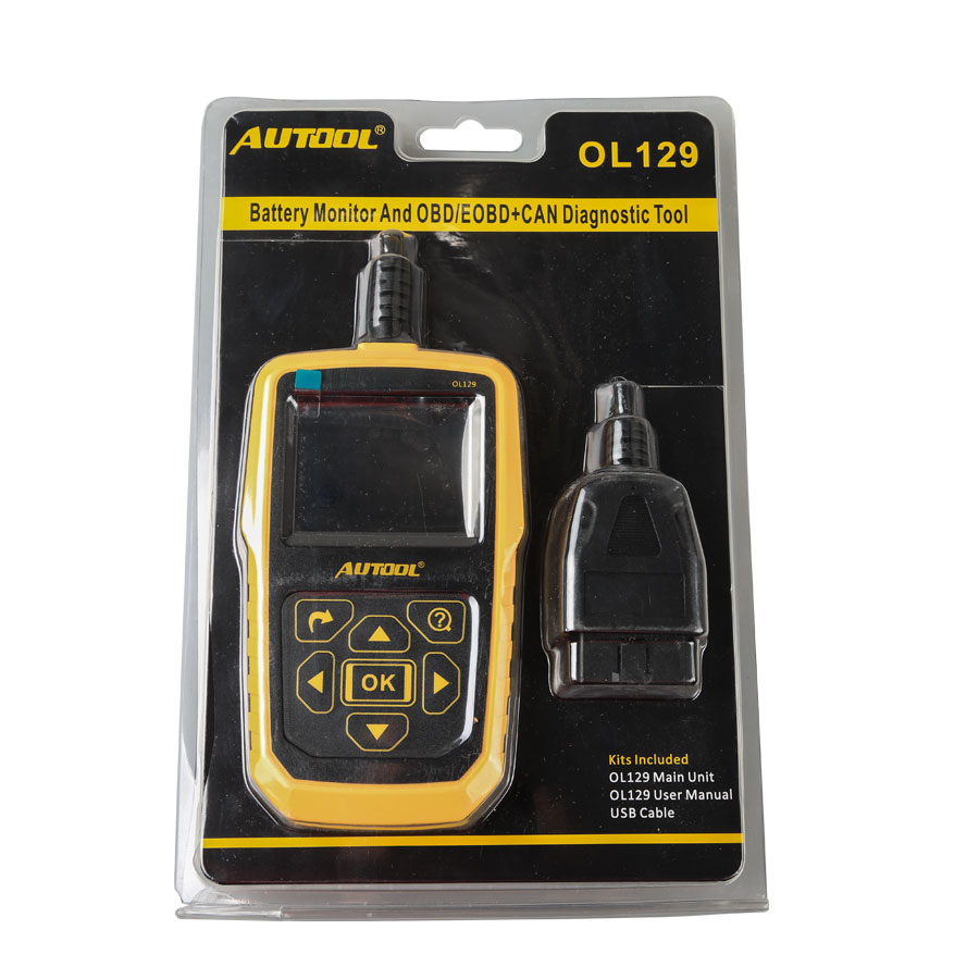 Autool Ol129 Battery Monitor And Obd Eobd Code Reader Auto