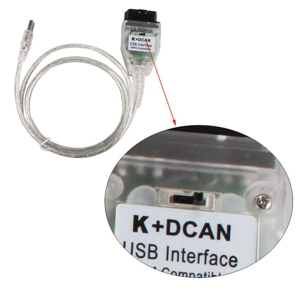 New BMW INPA K+CAN With FT232RQ Chip with Switch