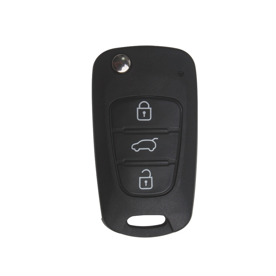 Modified Flip Remote Key Shell 3 Button for Kia Chi Running 5pcs/lot